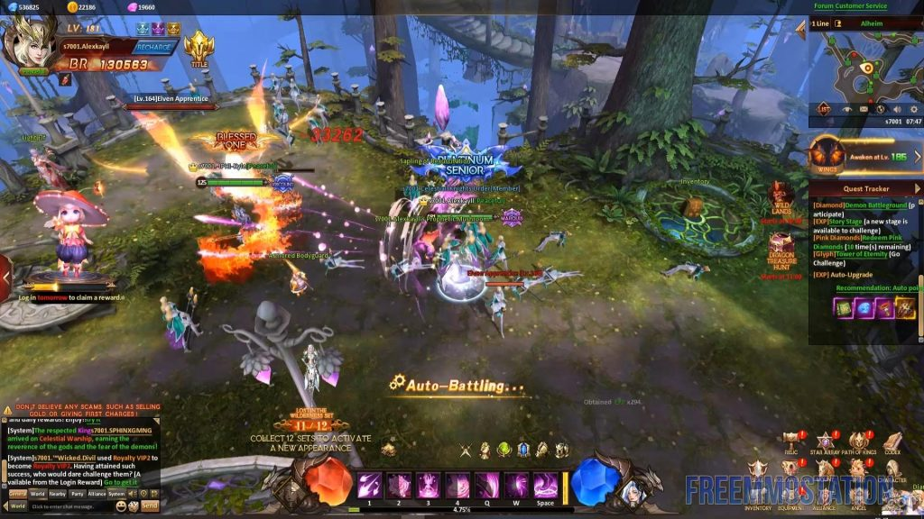 League of Angels 4 Heaven's Fury fantasy mmo