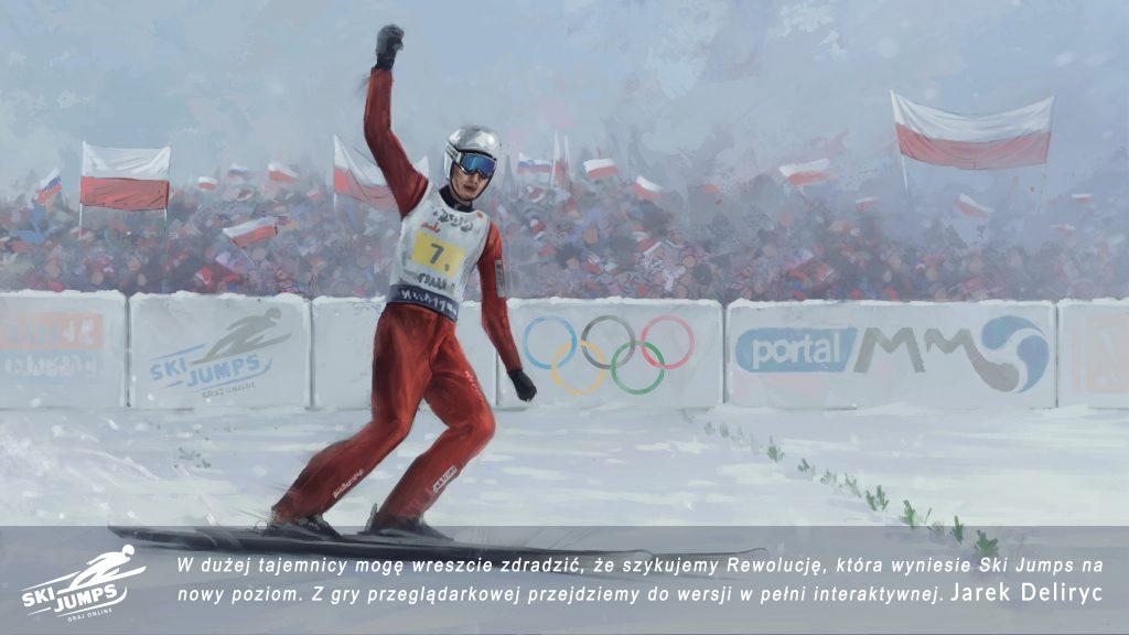 gra skoki narciarskie ski jumping online