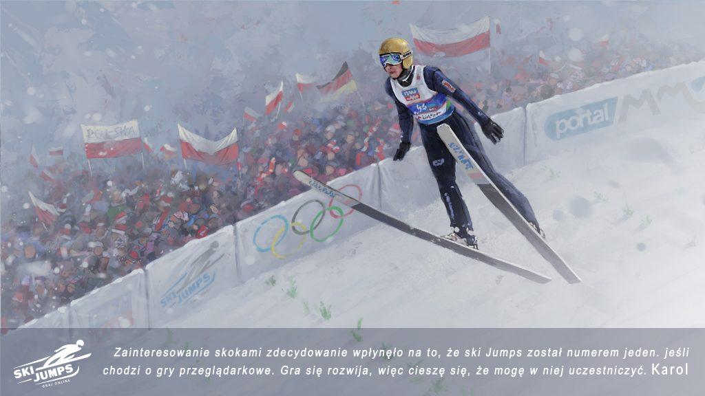 ski jumping skoki gra online pl