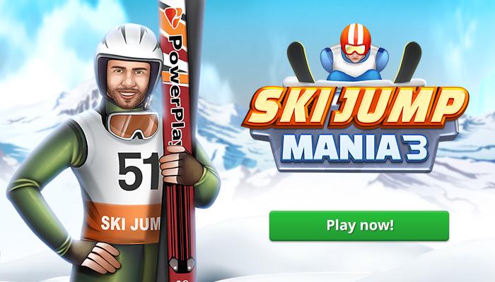 Ski Jump Mania 3 gry skoki narciarskie