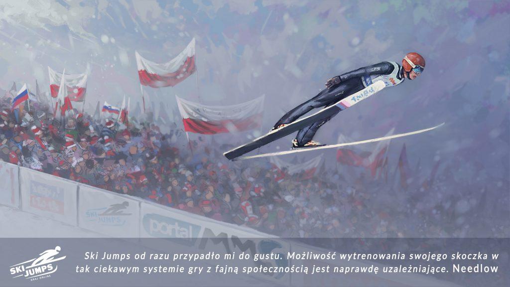 skijumping gra skoki narciarskie