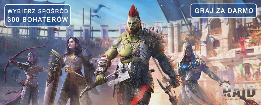 Darmowe MMORPG online RAID shadow warrior