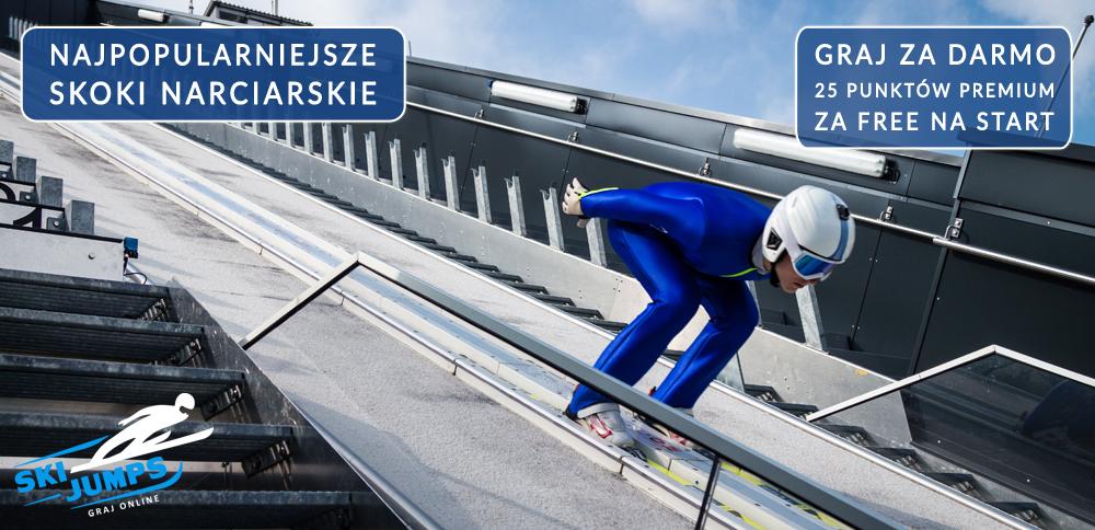 gry skoki narciarskie ski jumping gra online